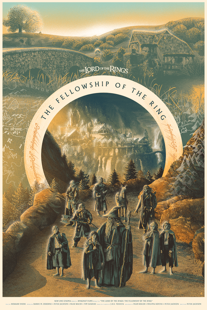 """Lord of the Rings: The Fellowship of the Ring"" by Tom Miatke"