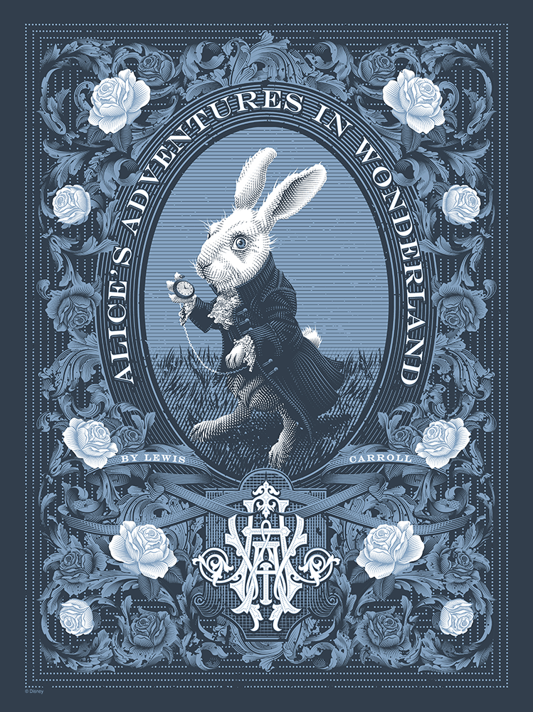"""Alice's Adventures in Wonderland"" by Tracie Ching - Hero Complex Gallery"