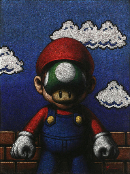 """Son of Plumber"" by Trent Lawson - Hero Complex Gallery"