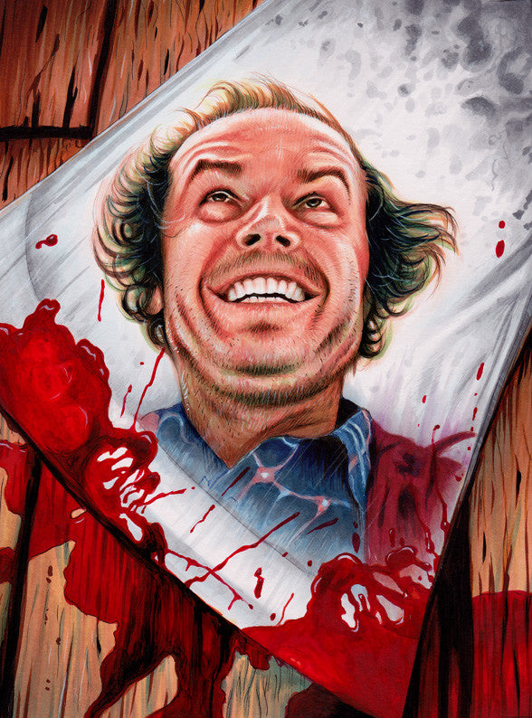 """The Shining"" by Trev Murphy - Hero Complex Gallery"