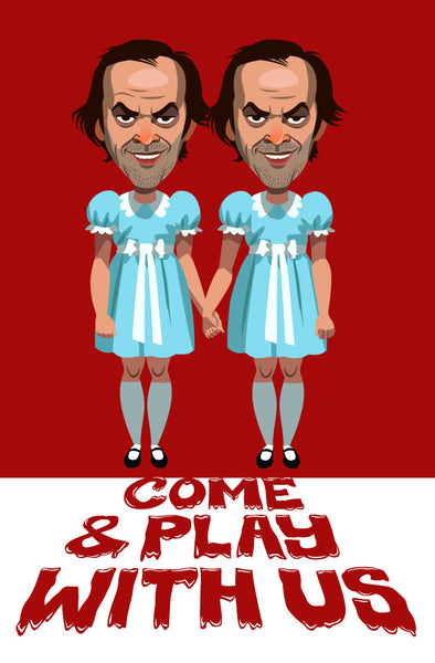 """Come Play With Us"" Variant by Christian Garland - Hero Complex Gallery"