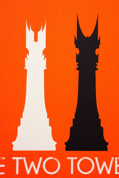 """Checkmate: The Two Towers"" by Patrick Connan - Hero Complex Gallery  - 6"