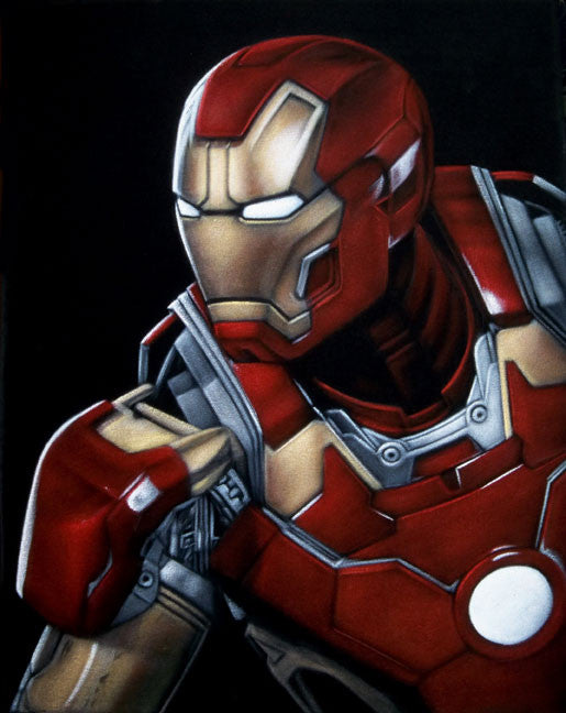 """Iron Man"" by Bruce White - Hero Complex Gallery"
