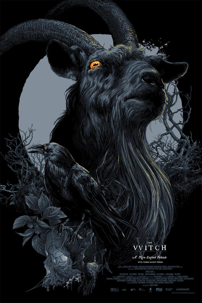 """Black Phillip"" by Vance Kelly - Hero Complex Gallery  - 1"