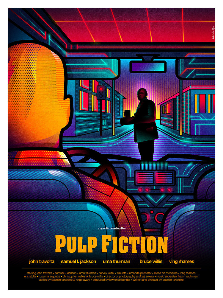 """Pulp Fiction"" by Van Orton Design - Hero Complex Gallery"