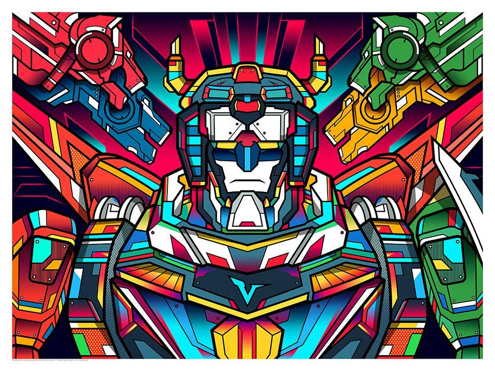 """Voltron"" by Van Orton Design"