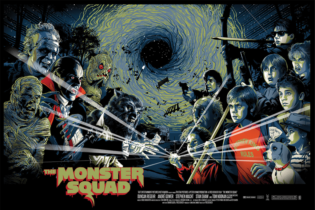 """Monster Squad"" AP by Vance Kelly"