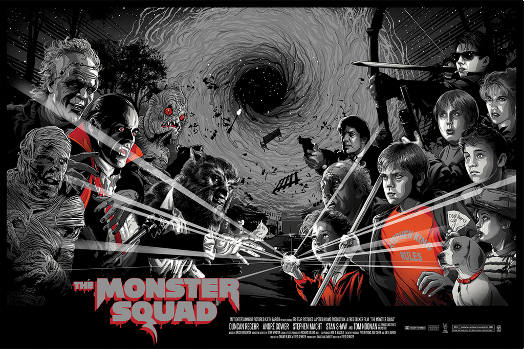 """Monster Squad"" Variant AP by Vance Kelly"