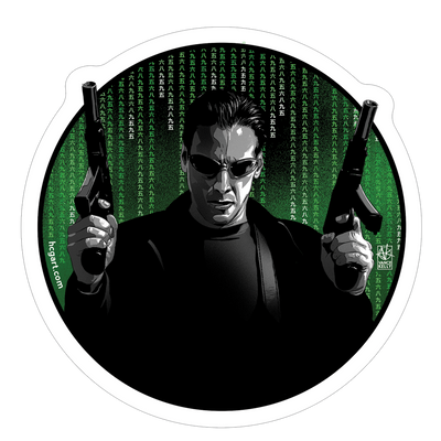 """Neo"" Sticker by Vance Kelly"