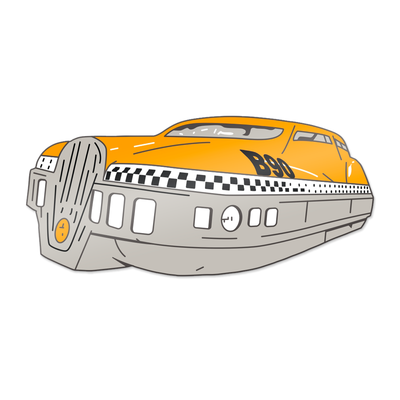 "263. ""5th Element Taxi"" Pin by Vance Kelly"