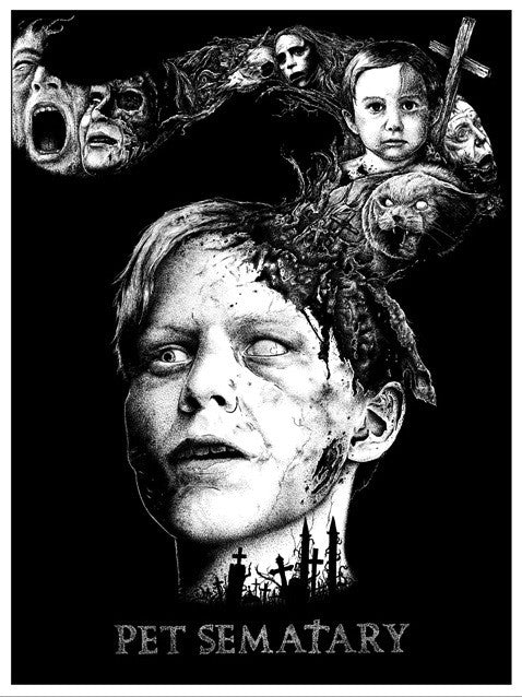 """Pet Sematary"" Variant by Alexandros Pyromallis - Hero Complex Gallery  - 1"