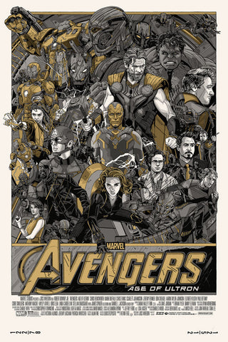 MARVEL'S Avengers: Age of Ultron - Variant by Tyler Stout - Hero Complex Gallery