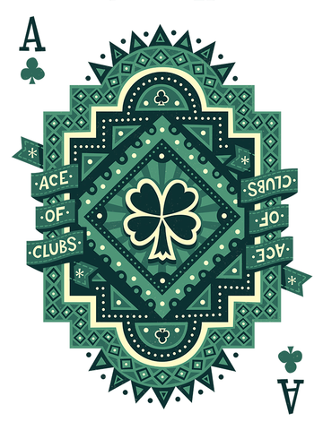 Ace of Clubs by Victor Medina - Hero Complex Gallery