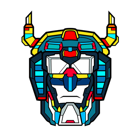 Voltron Pin #2 by Van Orton - Hero Complex Gallery  - 1