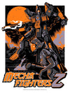 """MechaFighters Z"" Orange Variant by Wes Art Studio"