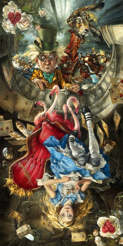 """We're All Mad Here"" by Heather Theurer - Hero Complex Gallery  - 2"