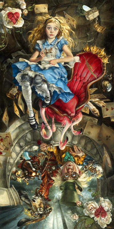 """We're All Mad Here"" by Heather Theurer - Hero Complex Gallery  - 1"