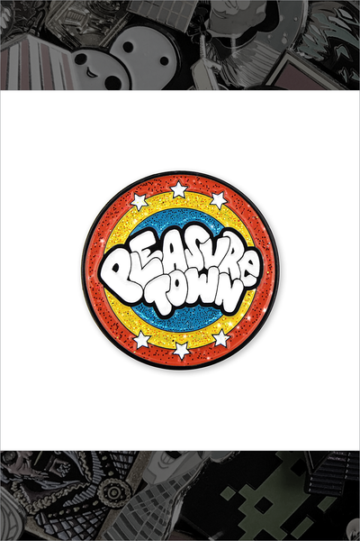 "023. ""Pleasure Town"" Pin by Blue Ruin"