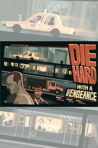 """Die Hard with a Vengeance"" by Glen Brogan - Hero Complex Gallery"