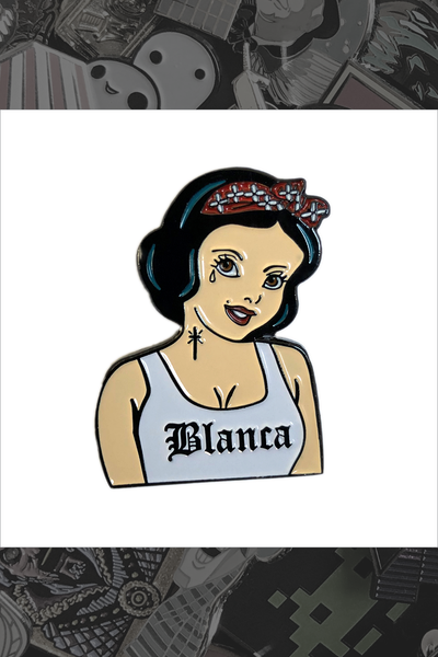 "042. ""Blanca"" Pin by Coolectric Creations"