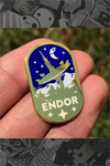 "050. ""Endor"" Pin by Cryssy"
