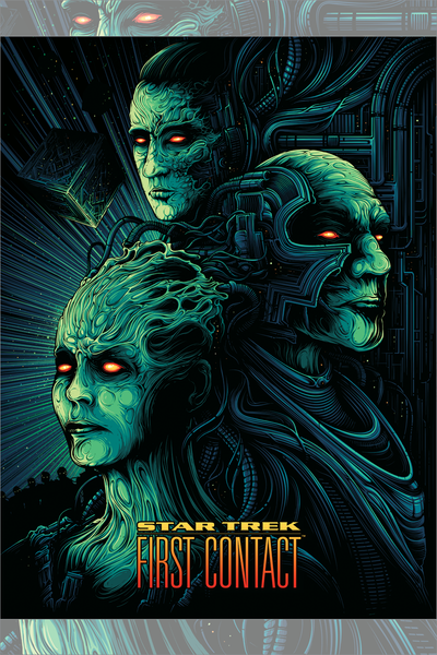 """First Contact"" by Dan Mumford"