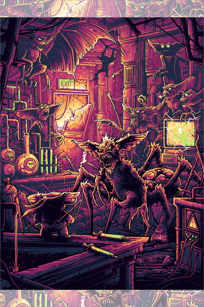 """The building's completely screwed up today"" by Dan Mumford"