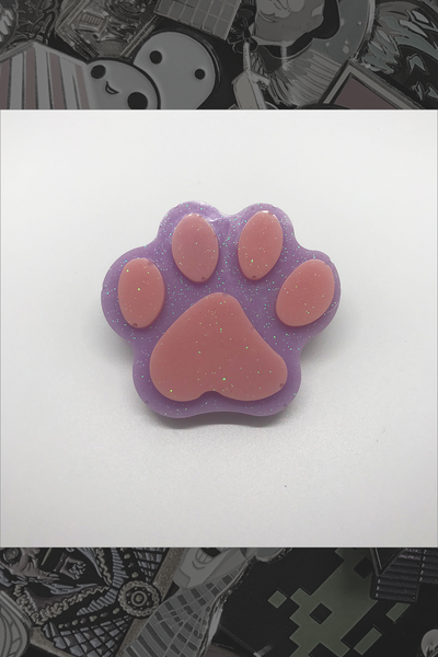 "052. ""Lilac Lil' Paw"" Pin by Dare to Dream Flair - Hero Complex Gallery"