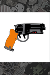"081. ""Blade Runner Blaster"" Pin by Hellraiser Designs"
