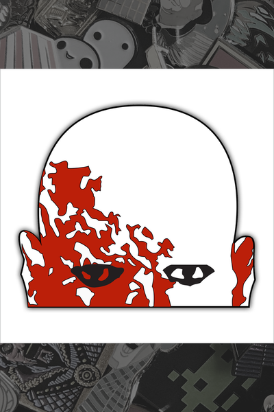 "075. ""Dawn of the Dead"" Pin by Hellraiser Designs"