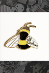 "097. ""Oh Beehave"" Pin by ilootpaperie"