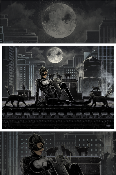 """Nine"" Catwoman by JP Valderrama - Hero Complex Gallery"