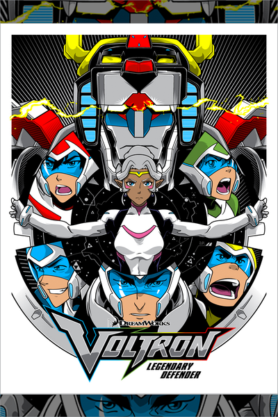 """Ready to Form Voltron"" by Joshua Budich"