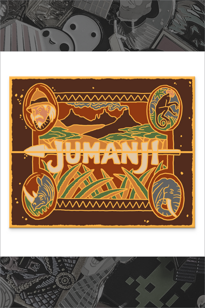 "112. ""Jumanji"" Pin by Kevin M Wilson / Ape Meets Girl"