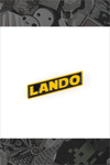 """Lando"" Yellow Pin by Little Shop of Pins"