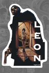 """Leon"" Sticker by Barret Chapman"