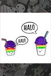 "123. ""Halo Halo"" Pin by Little Shop of Pins"