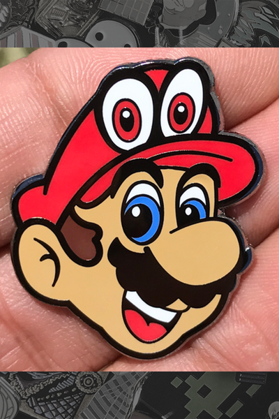 "087. ""Mario"" Pin by Little Shop of Pins - Hero Complex Gallery"