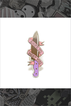 "135. ""Knife To Meet You"" Pin by LuxCups Creative"