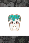 "138. ""Mint Sweet Tooth"" Pin by LuxCups Creative"