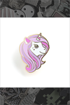 "139. ""Lilac Unicorn"" Pin by LuxCups Creative"
