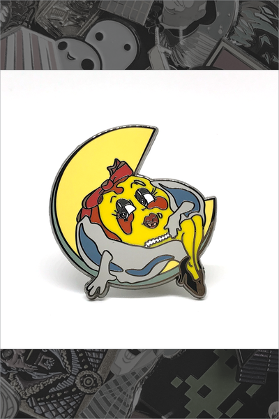 "148. ""Ms. Pac-Man"" Pin by Mame Pins"