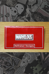 """Marvelous"" Pin by Hellraiser Designs"