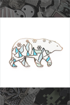 "170. ""Polar Bear"" Pin by Natelle"