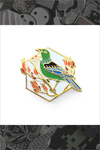 "167. ""Tui Bird"" Pin by Natelle"