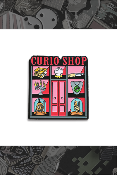 "180. ""Curio Shop"" Pin by Nerdpins"