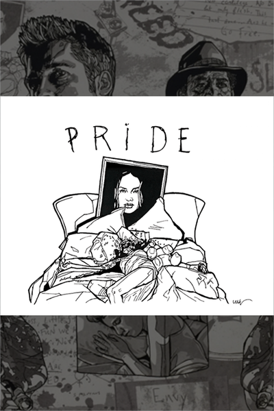 "8x10-A ""Pride"" Original by New Flesh"