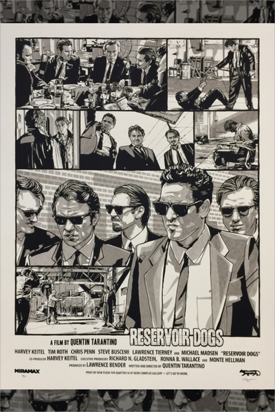 """Reservoir Dogs"" Variant by New Flesh"