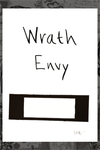 "5x7-B ""Envy/Wrath Title"" Original by New Flesh"