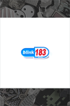 "191. ""blink 183"" Pin by (otherworld)"